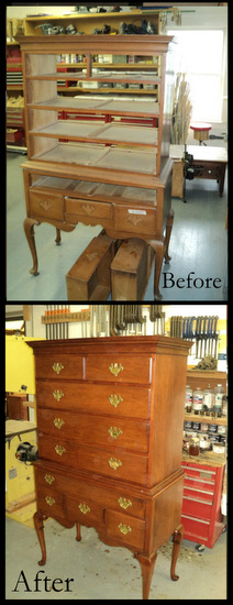 Workers In Wood Restoration Refinishing Vermont